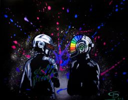Daft Punk by Ace-McGuire