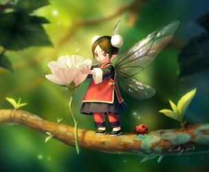 chinese fairy? by Evaty