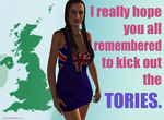 ...kick out the Tories by niauropsaka
