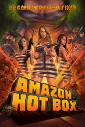 AMAZON HOT BOX POSTER ART by WacomZombie