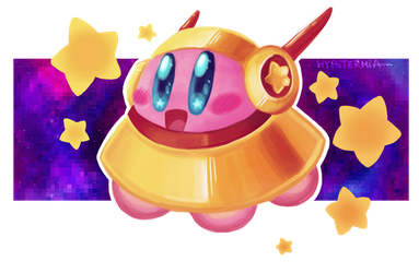 THE COMEBACK OF UFO KIRBY by x-Hypotermia-x