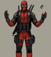 Deadpool Concept by FonteArt
