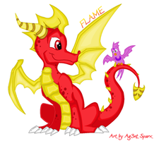 Flame.. by Ag3nt-Sparx