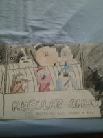 Regular Show Advertizing poster by NorfolkSouthern