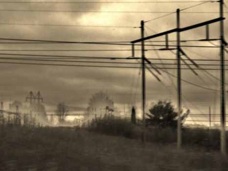 Powerlines and Hillsides II. by phi-phi