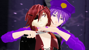 [MMD] You Can Never Escape Me by ZexionStrife