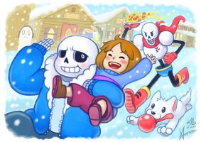 Undertale Collaboration by Ry-Spirit