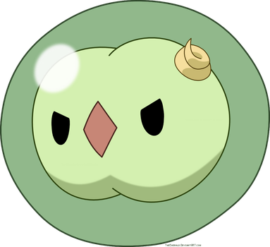 Free Solosis Pokemon Vector by Emerald-Stock