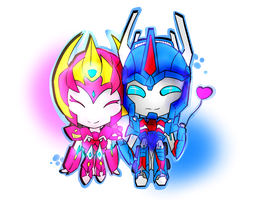[TF.C] Commissions - Maximillian and Ultra Magnus by WolfCreeker