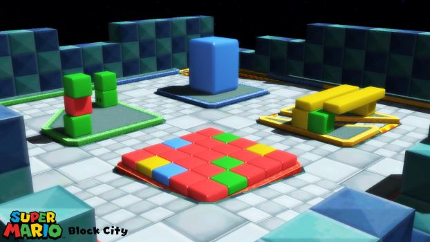 (MMD Stage) Block City Download by SAB64