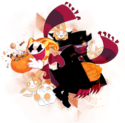 trick or treat by MnstrMthd