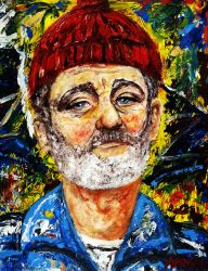 Steve Zissou by amoxes