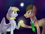The Doctor and Bright Eyes by CatchyArtz
