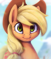 AppleJack by MoonDreamer16