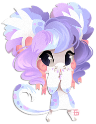 Lineless chibi Haylie by griffsnuff