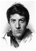 Dustin Hoffman by FinAngel