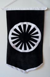 First Order wall hanging by WhimsicalSquidCo