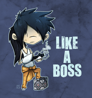 Portal Like a Boss by ZestyDoesThings