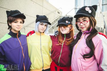 Evangelion (Rebuild) Group Cosplay by tracygraves