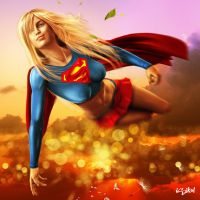 SUPERGIRL - SUMMER by ISIKOL