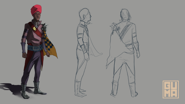 Character Design unfinished by zerelin