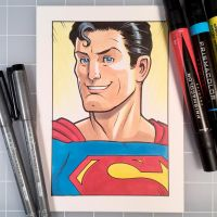Marker Superman by D-MAC