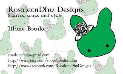 Business Card by RosaleenDhu
