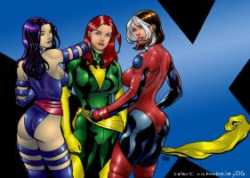 X-Chicks by Frank Cho by richmbailey