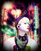 Suga phone drawing by SMoran