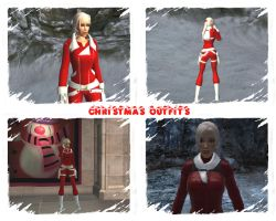 Christmas outfits by Badty92