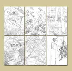Lineart Samples by gaering