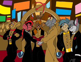 Biker Mice Wedding by TeamPossible