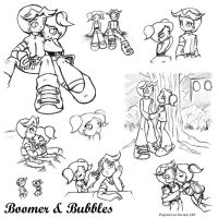Boomer and Bubbles by propimol