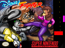 Disney Fighter snes by ArtAsylum1980