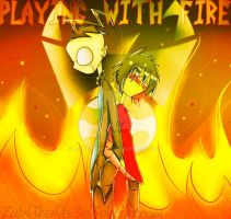 Playing With Fire- Contest by Zubwikawa
