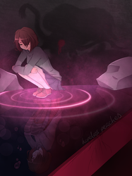 Reflection || Glitchtale Origins [ Anniversary ] by HopelessPeaches