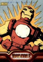 Spikey Iron Man by soliton