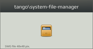 Tango-system-file-manager by vicing