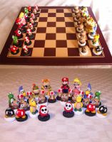 Nintendo Chess Set by Suntro