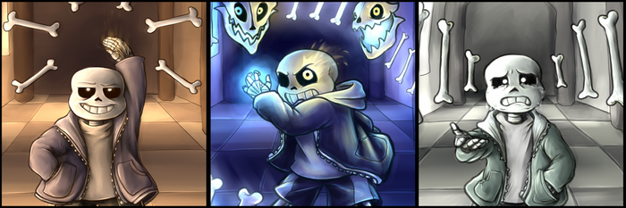 The many Faces of Megalovania by LadyIcepaw