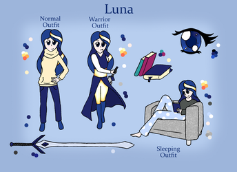 Luna - Reference Sheet by RabSwar