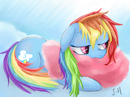 Rainbow Dash by Dashy21