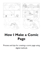 How I Make a Comic Page by Mintoons