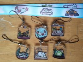 Tiny Pets Charms and Lanyards by SouthParkTaoist