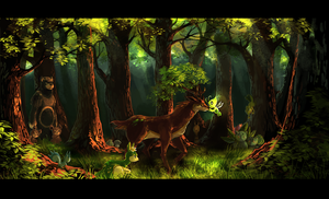 Voice Of The Forest by Tuooneo