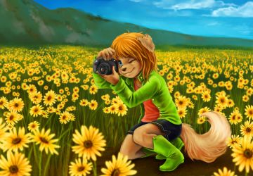 Sunshine and Daisies by The-kat