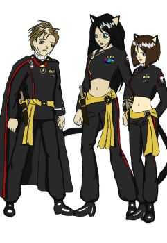 Imperial Starfleet Uniforms by hmsnike
