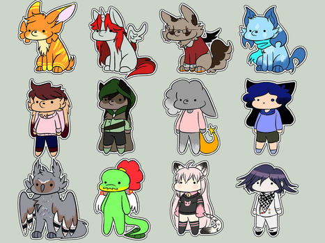 Chibi Requests Stream batch 2 by theIcecolo
