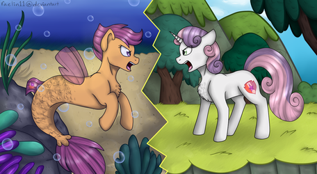 Your Heart is In Two Places by raelin11
