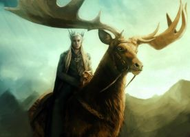 The Elvenking by bryzunovrokks